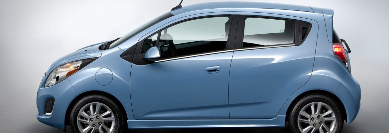 Обновлённый Spark представила компания Chevrolet