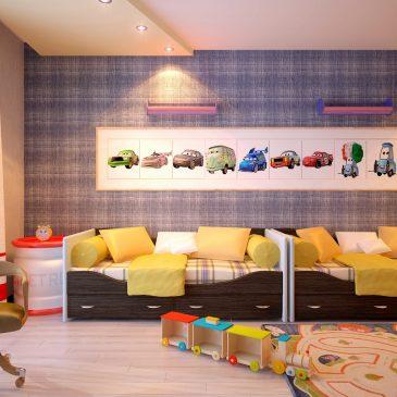 Выбор люстры для ребенка-автолюбителя